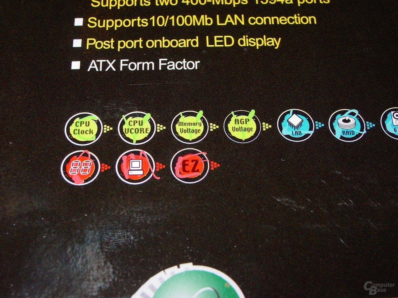 EPoX EP-4SDA5+ - Features