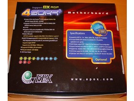 EPoX EP-4SDA5+ - Packung - back