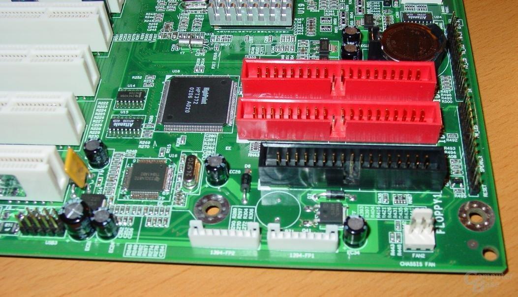 EPoX EP-4SDA5+ - Raid und Firewire