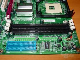 EPoX EP-4SDA5+ - RAM-Steckplätze und IDE