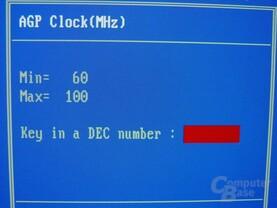 Gigabyte - GA-8SG667 - Bios - AGP-Takt