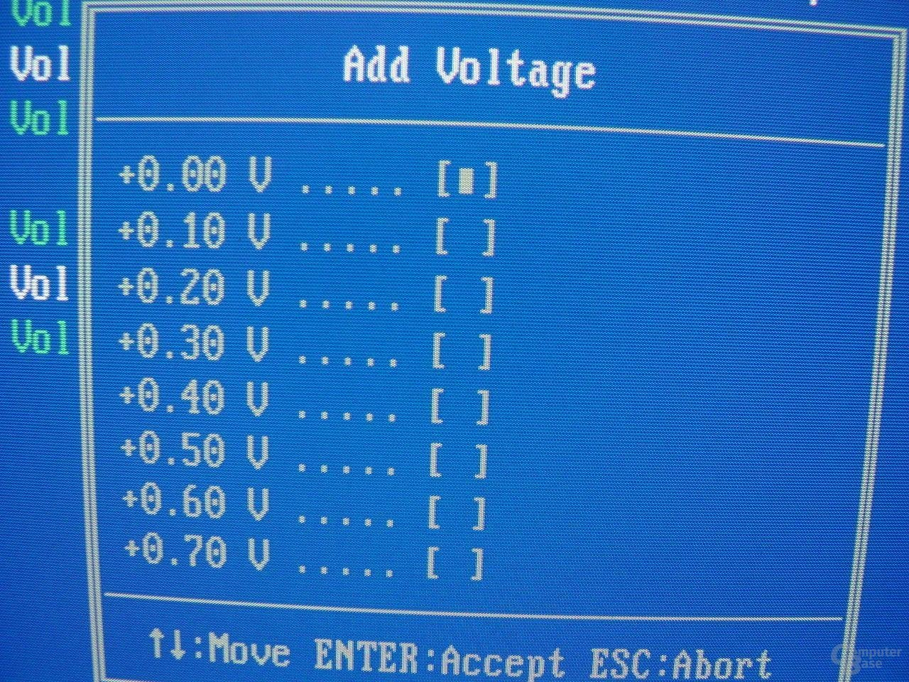EPoX EP-4SDA5+ - Bios - AGP-RAM-Voltage