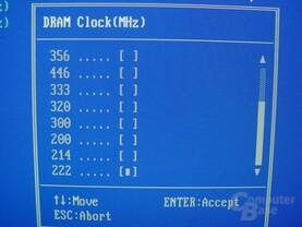 Gigabyte - GA-8SG667 - Bios - RAM-Takt - 2