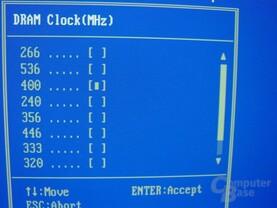 Gigabyte - GA-8SG667 - Bios - RAM-Takt