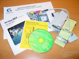 Gigabyte - GA-8SG667 - Lieferumfang