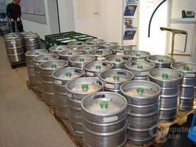 Bier für den Freenet.de Stand