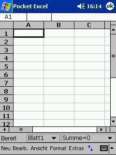 Pocket Excel