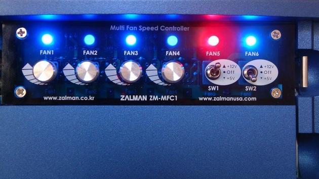 Zalman ZM-MFC1 im Test: Eine Lüftersteuerung zum Abschalten