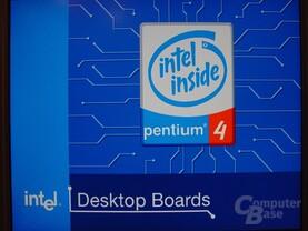 Intel D875PBZ beim Systemstart