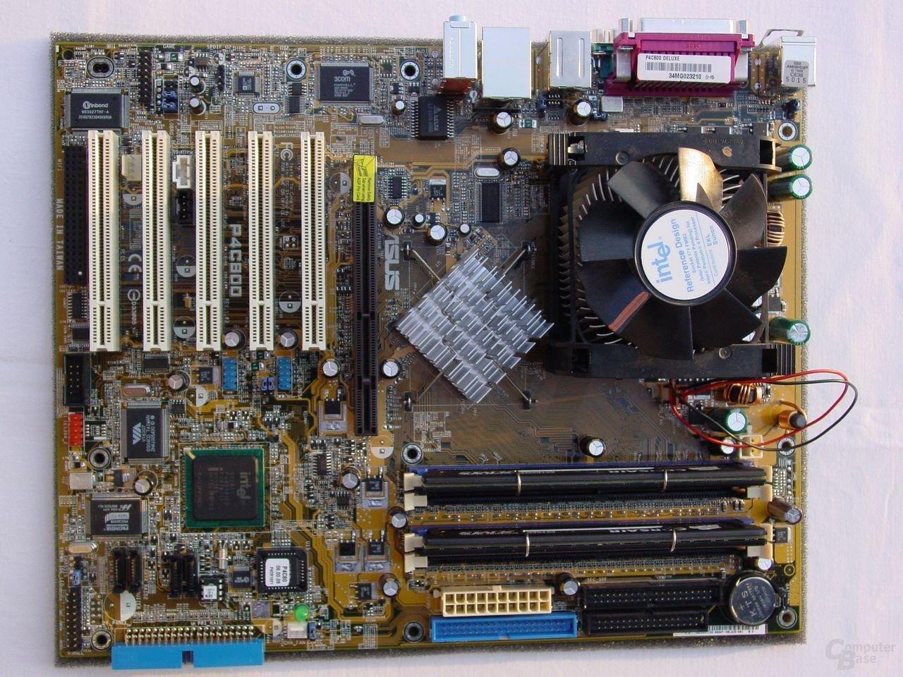 Asus P4C800 Deluxe mit i875P