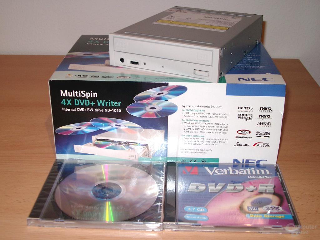 NEC ND-1100A komplett