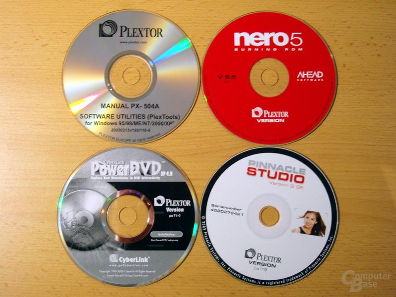 Plextor Software