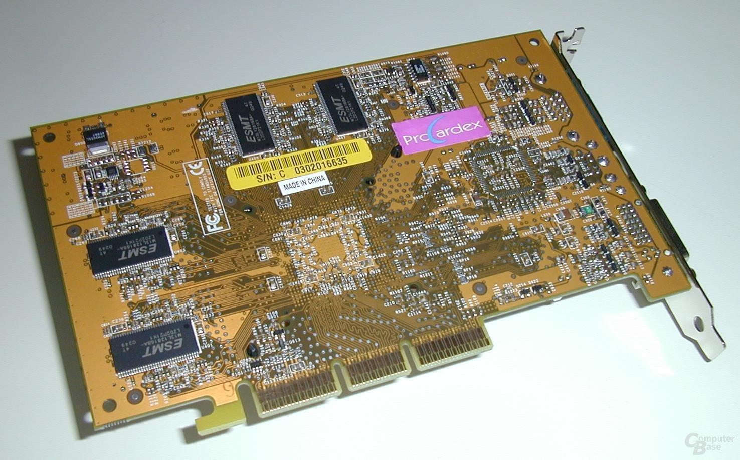 Ti4200-8X Karte Back