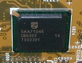 Ti4200-8X TV-Encoder Detail