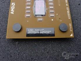 """Athlon XP3200+, FSB400 erkennbar am """"E"""" im Produktnamen"""
