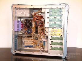 System eingebaut