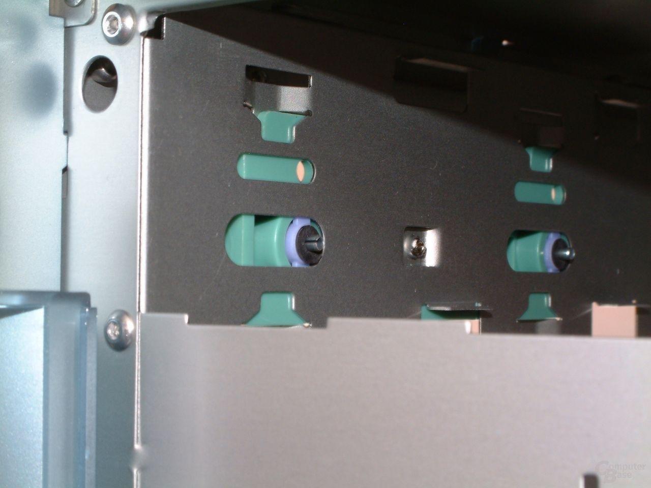 Riegel für Laufwerkarretierung