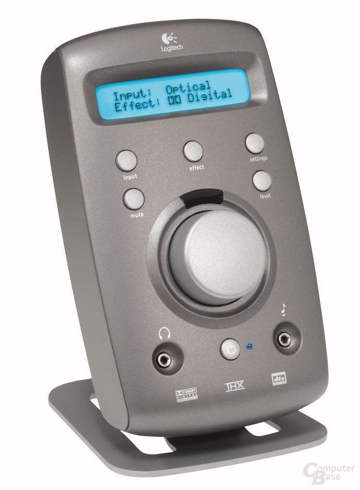 Logitech Z680 Controlcenter Presse