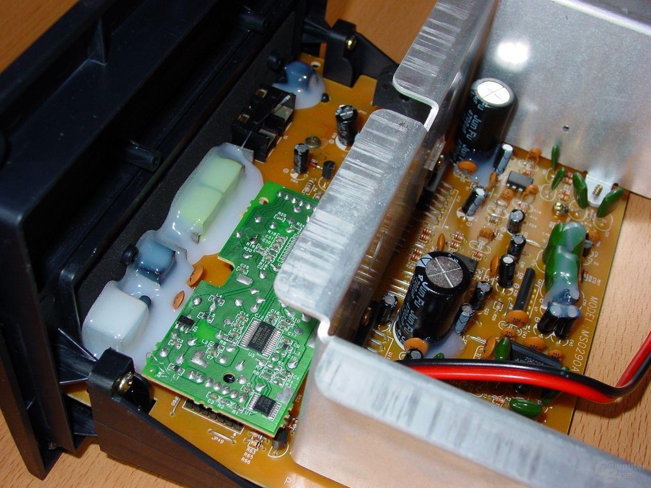 Inspire 2800 Digital Electronic Detail