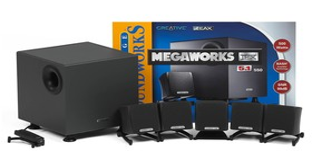Megaworks 550 THX komplett Presse