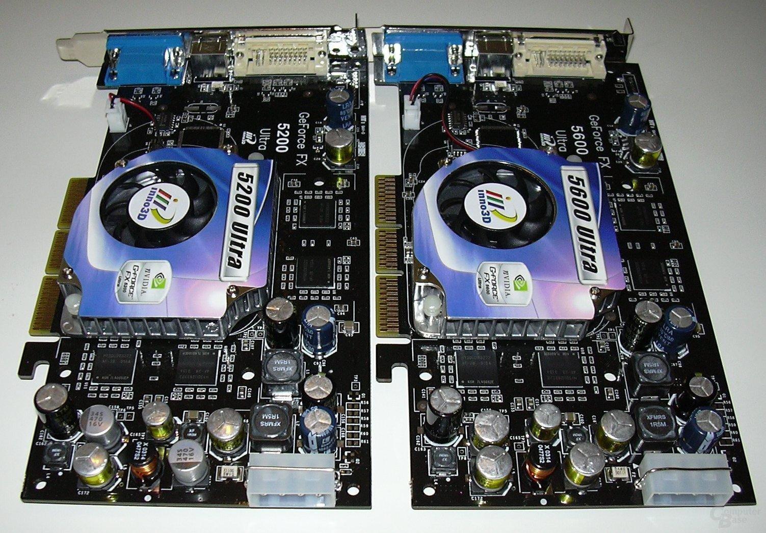 FX5200u vs. FX5600u II