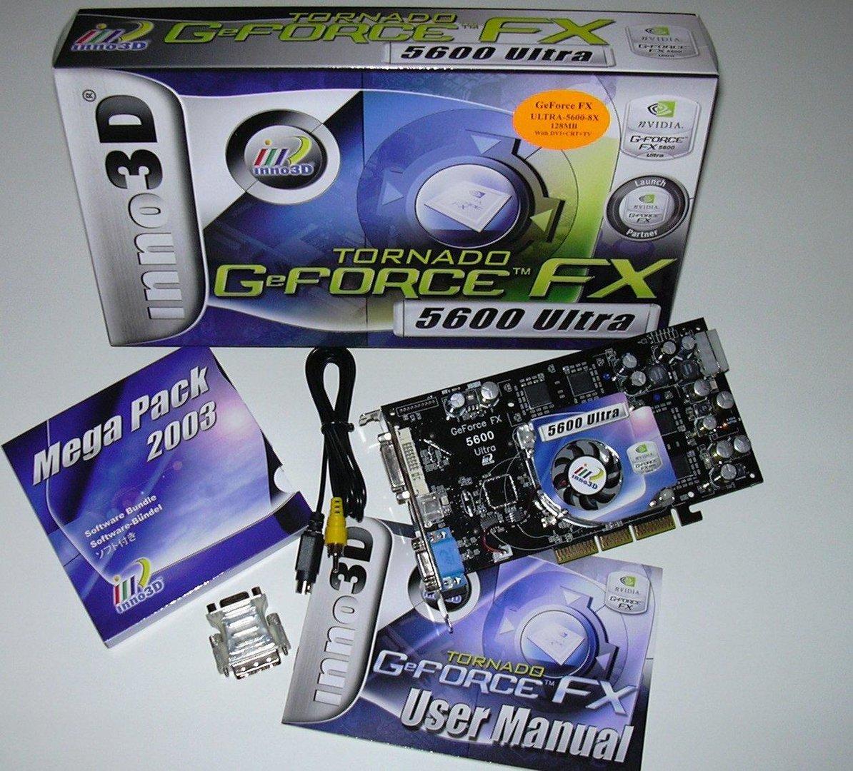 FX5600u Package Content II
