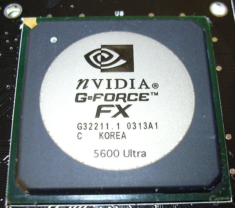 FX5600u Chip naked