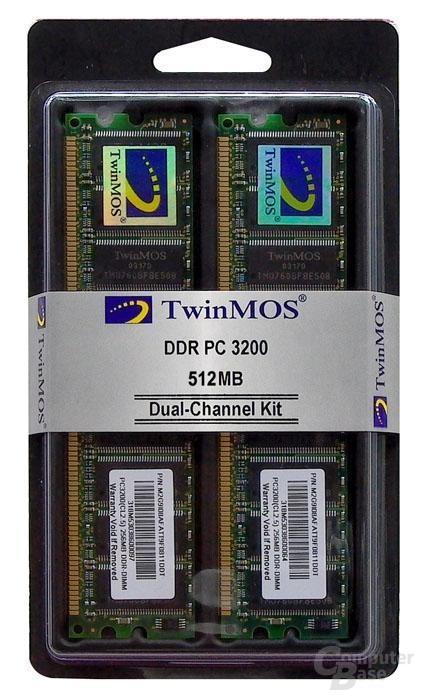 Twinmos Dual-Channel Kil PC3200 512MB
