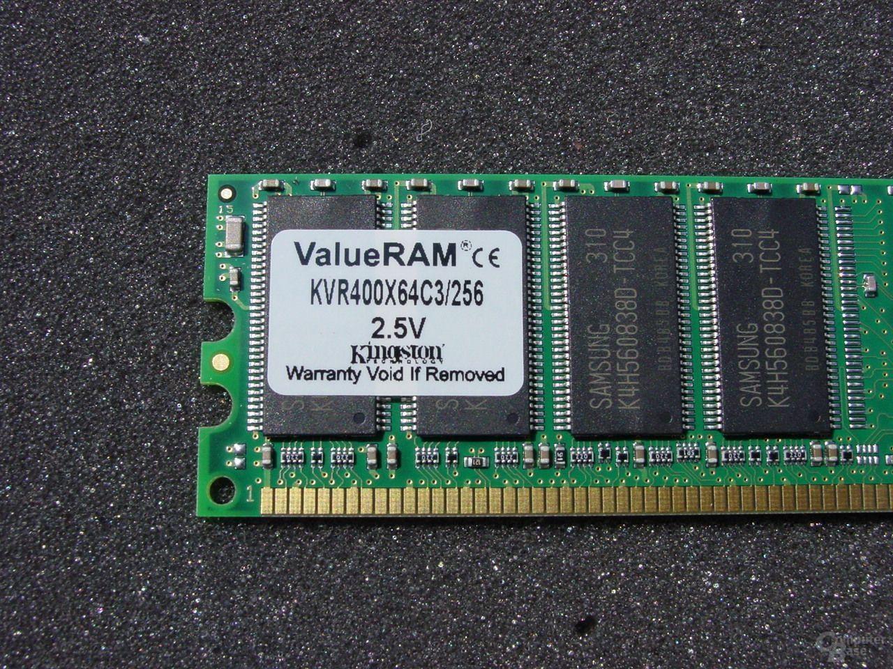 Kingston ValueRAM DDR400