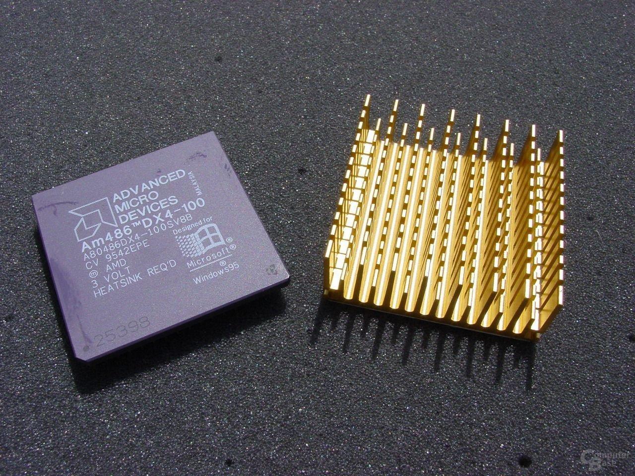 Athlon 468DX 4-100 mit  Kühler