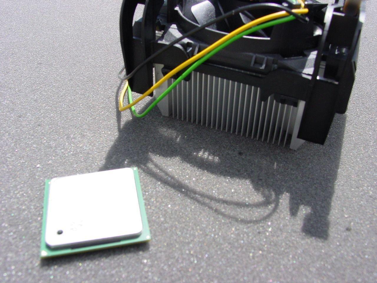 Intel Pentium 4 3,2 GHz mit neuem Boxed-Kühler