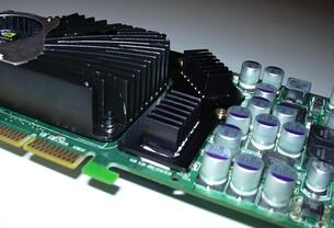 nV GFFX5900u Karte RAM-Kühler