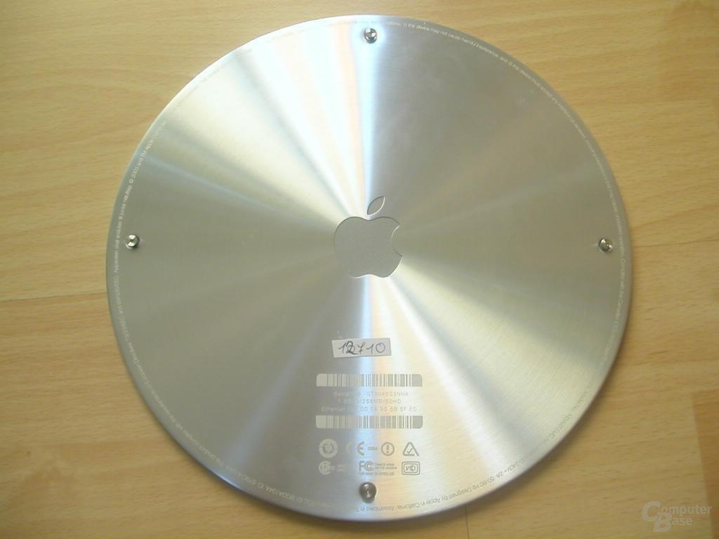 iMac Bodenplatte