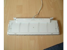 Rückseite der Tastatur