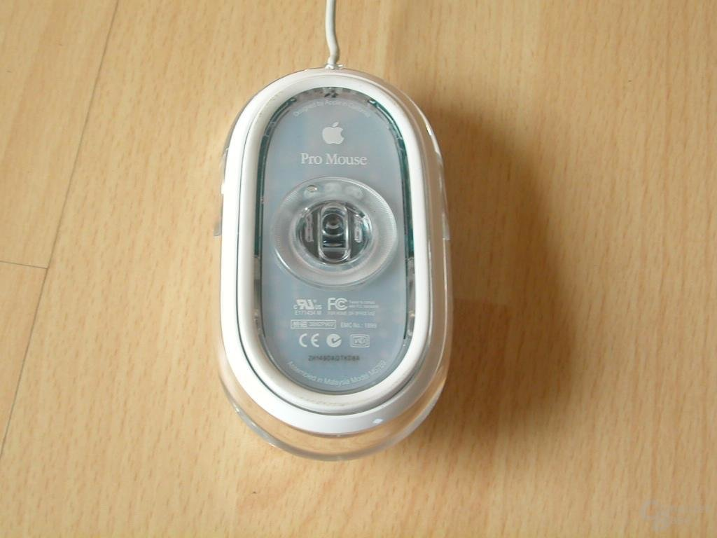 iMac Mouse Unterseite