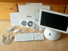 Lieferumfang iMac