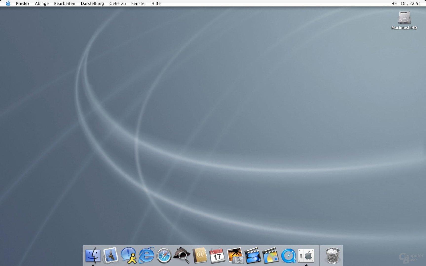 Desktop Mac OS X