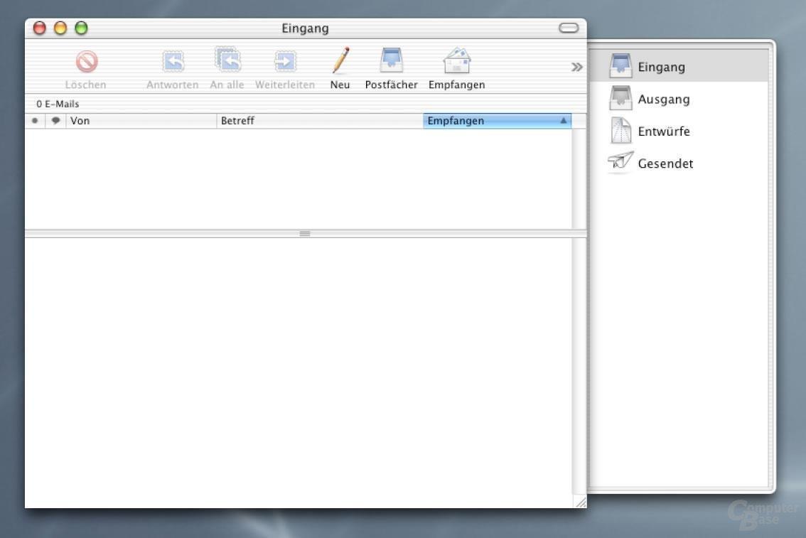 Mac OS X Mail