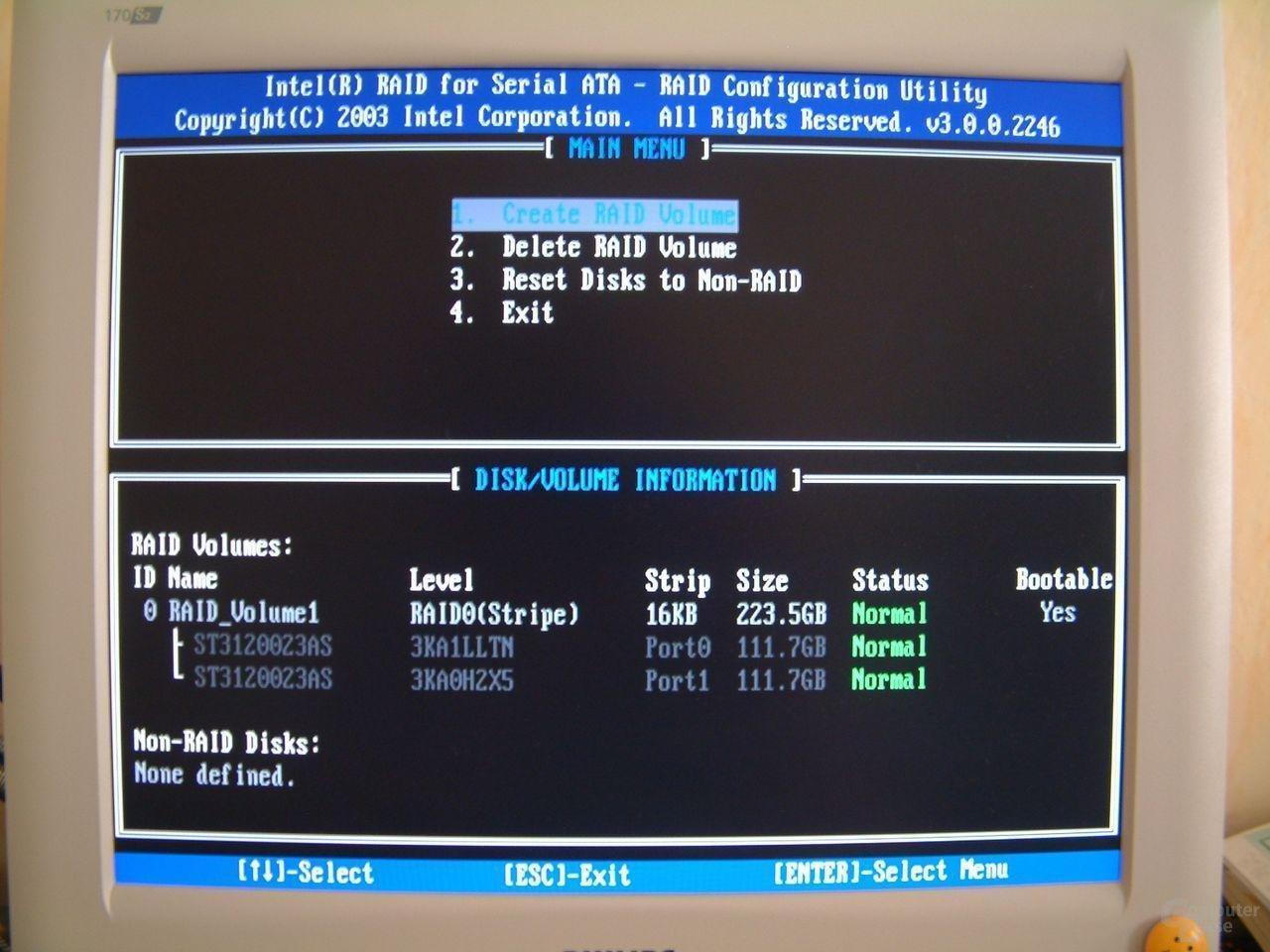 Intel ICH5/R BIOS