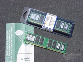 Kingston DDR400