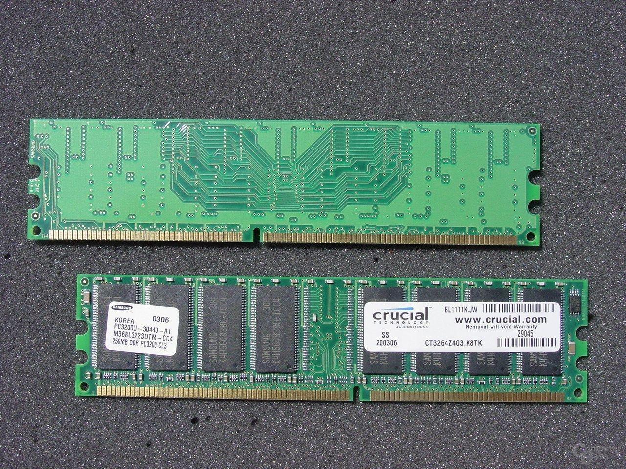 Crucial DDR400 256MB