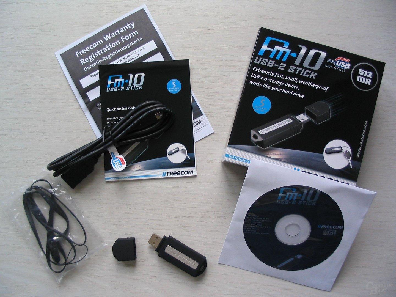 Lieferumfang Freecom FM-10