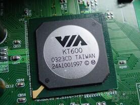 VIA Apollo KT600