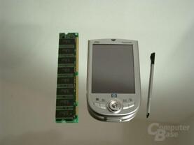 iPAQ vs. RAM