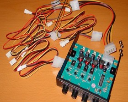 NXP-205 - Kabel und Steuerung