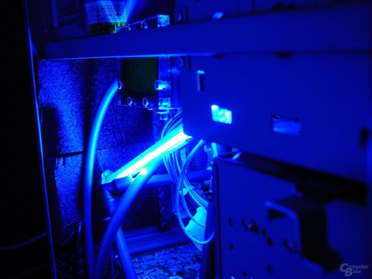 NXP-301 - blaue Kaltlicht Kathode