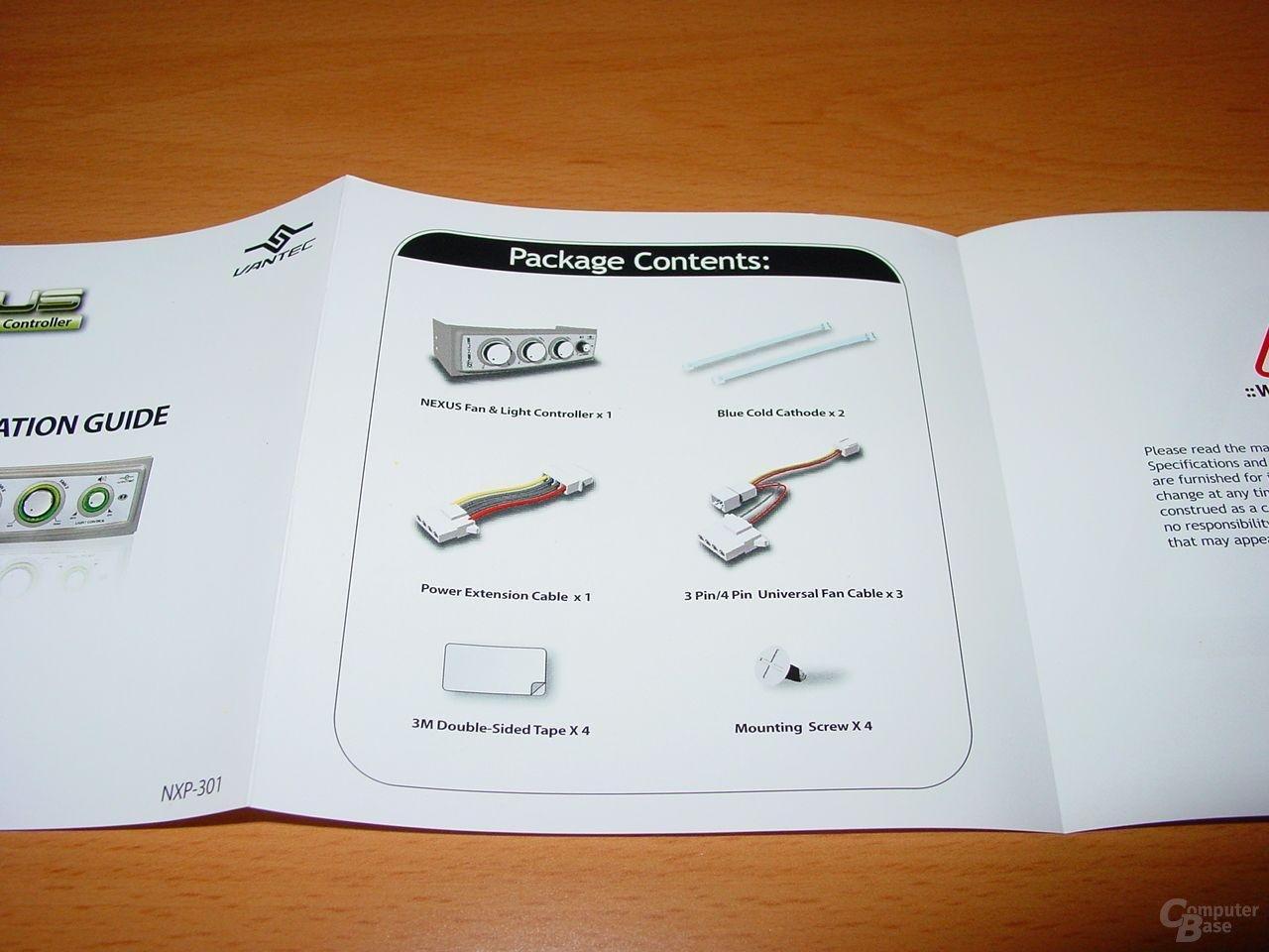 NXP-301 - Handbuch - 2