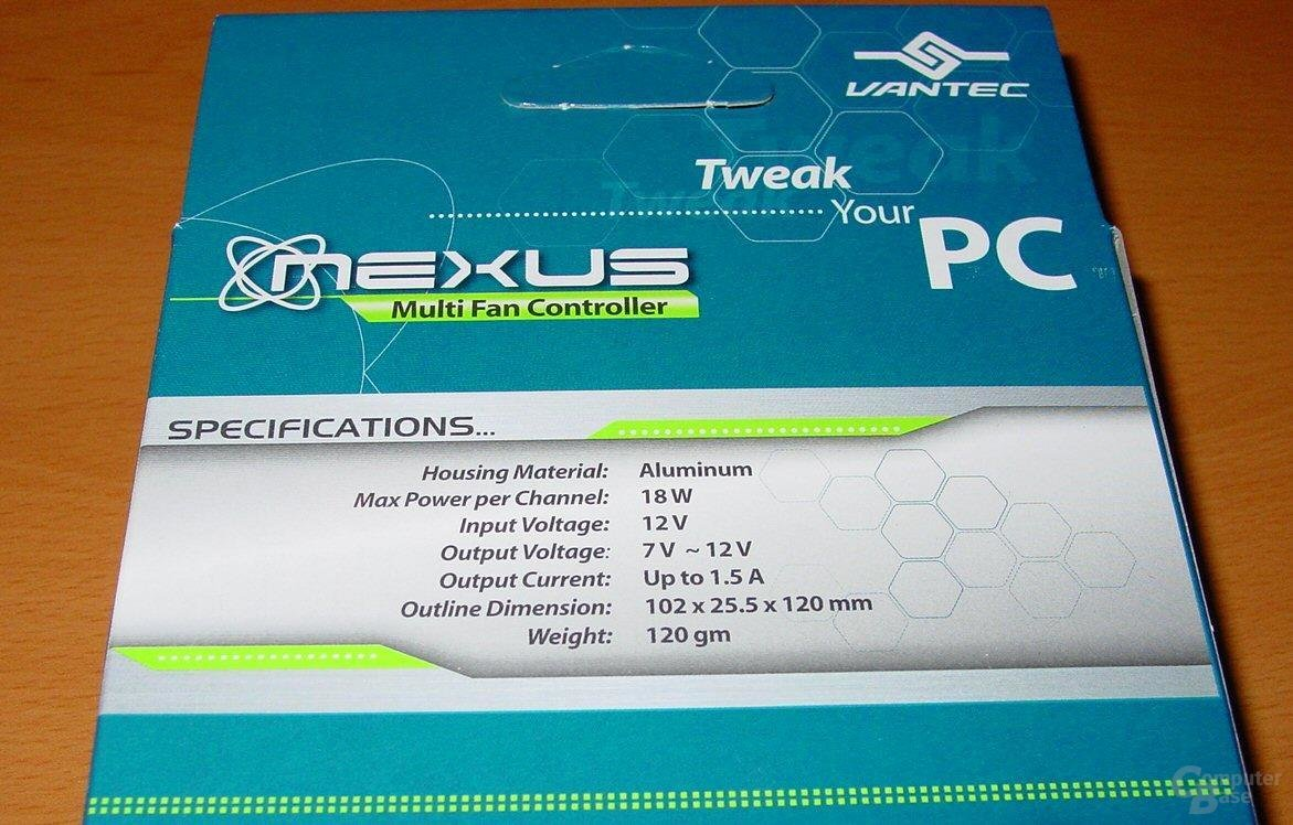 NXP-205 - Features