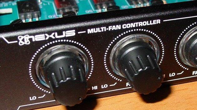 Vantec NXP-205 und NXP-301 im Test: Lichtlein regel dich!