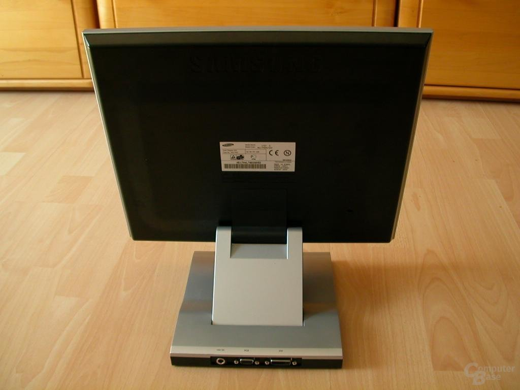 SyncMaster 172T - Rückseite